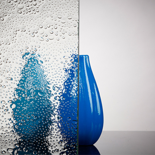 Patterned Glass - Bubbles