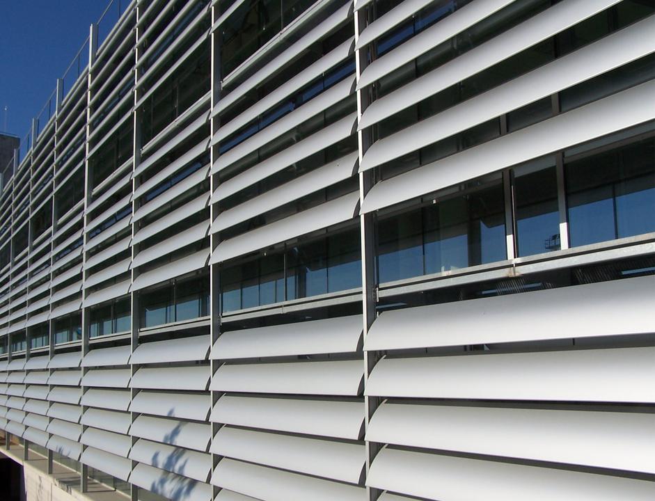 Celosías de Aluminio Serie S