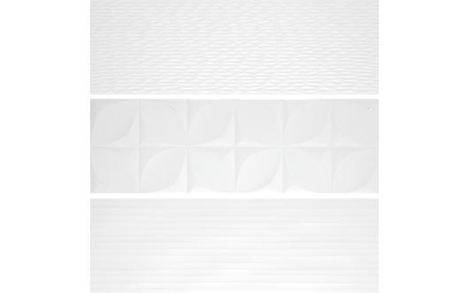 25 x 75 - Polar White