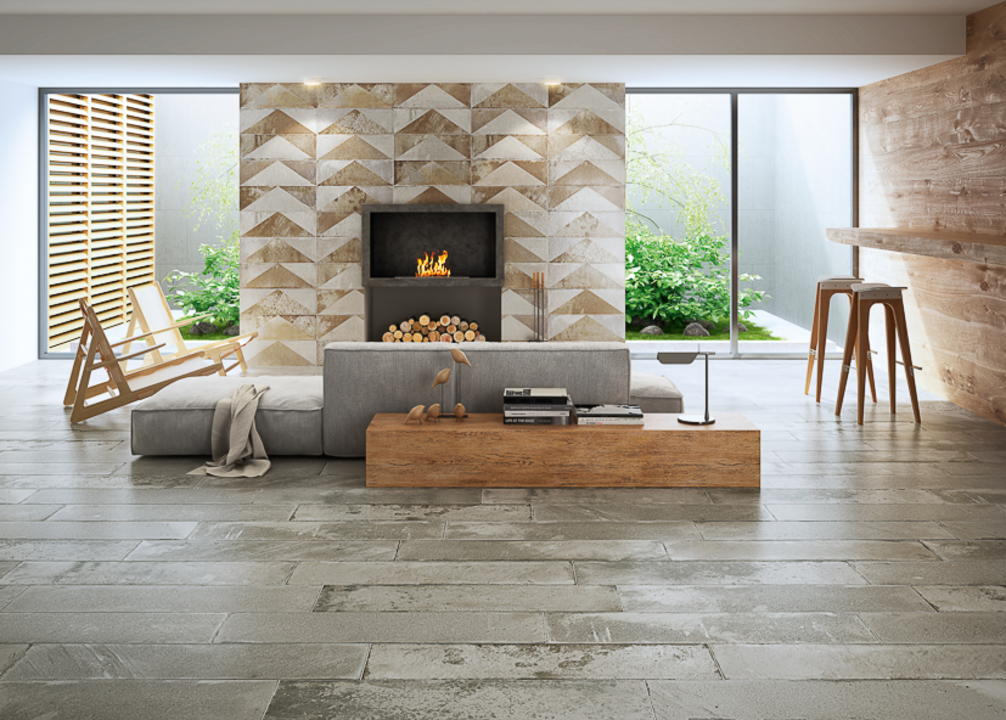 Porcelain Tiles - Brickwork