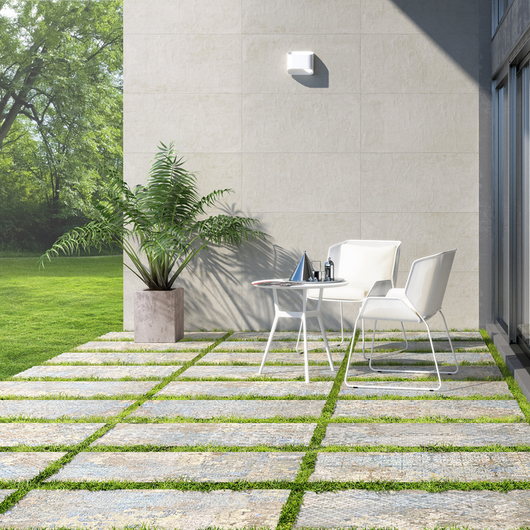 Exterior Flooring Systems – 2 cm Porcelain Stoneware / Aparici
