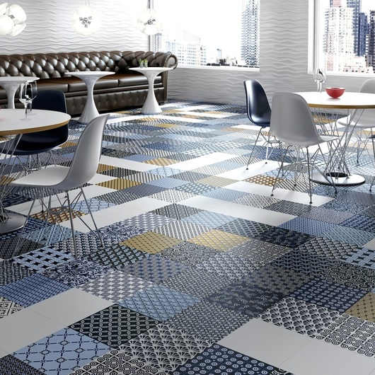 Porcelain Tiles - Encaustic Collections