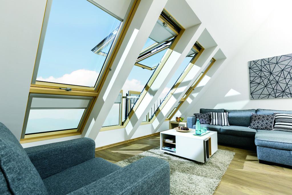 Balcony Roof Windows FGH