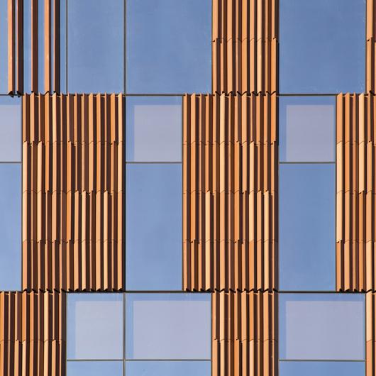 Terracotta Rainscreen Facade System - LONGOTON® Vertical Panels