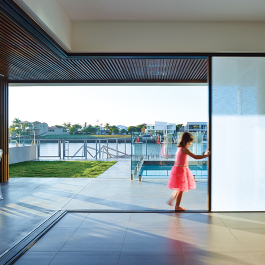 & Integrated Doors in Mooloolaba Residential Project from Centor