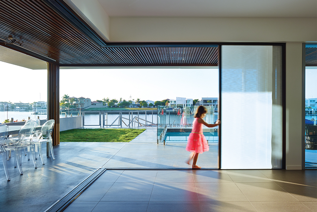 Integrated Doors in Mooloolaba Residential Project & Integrated Doors in Mooloolaba Residential Project from Centor