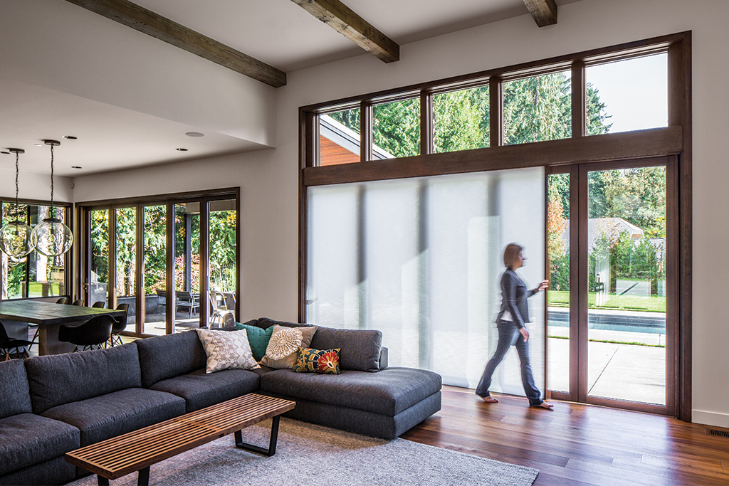 Integrated Doors in Portland Residential Project & Integrated Doors in Portland Residential Project from Centor