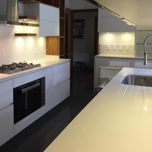 Proyecto de Mobiliario de Cocina en Madera de Lenga