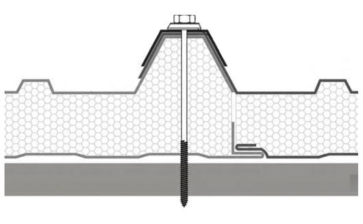 Fijación de panel
