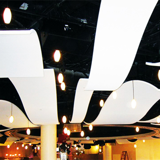 Architectural Forms Acoustical Free Hanging Clouds