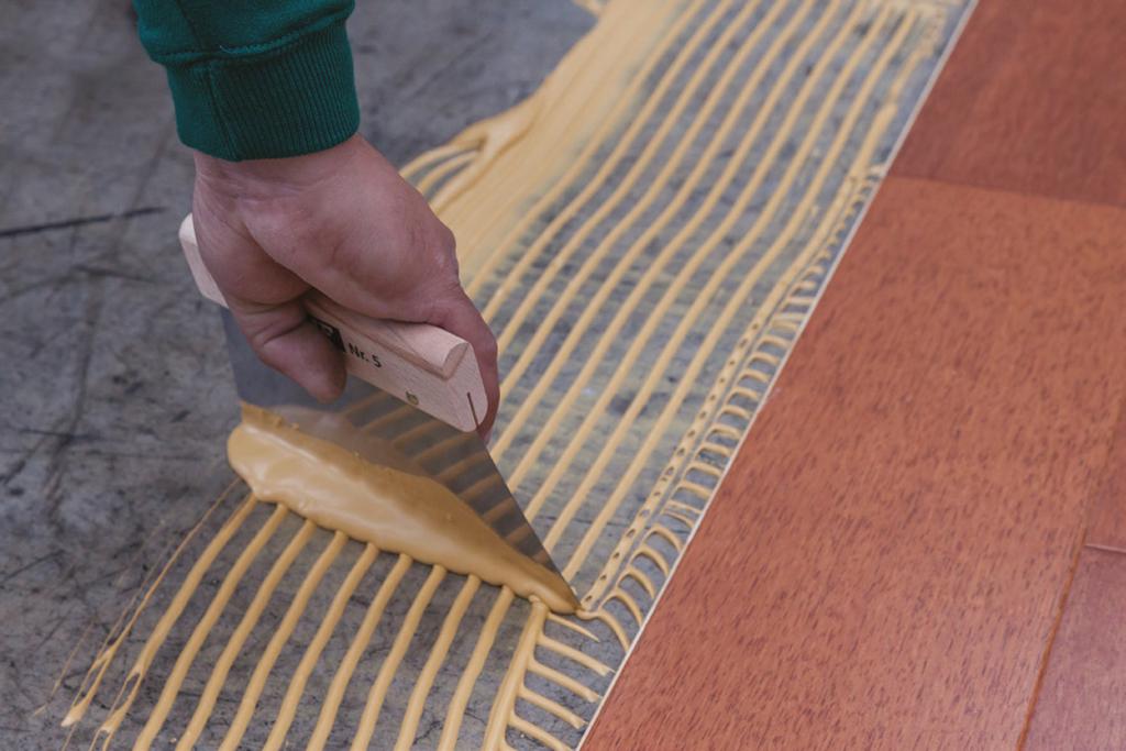 Gu a para la instalaci n de pisos de madera de ab kupfer - Instalacion piso madera ...
