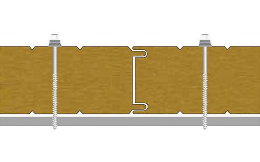 Fijación - Hipertec® Wall - Metecno
