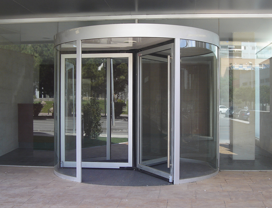 Puerta giratoria rs 100 de grupsa for Puerta giratoria