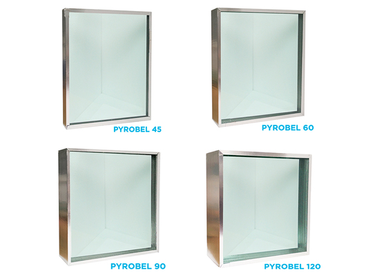 GGI Pyrobel Laminated Fire Resistant Glass