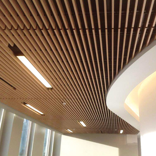 Gallery Of Linear Wood And Grille Ceilings 1