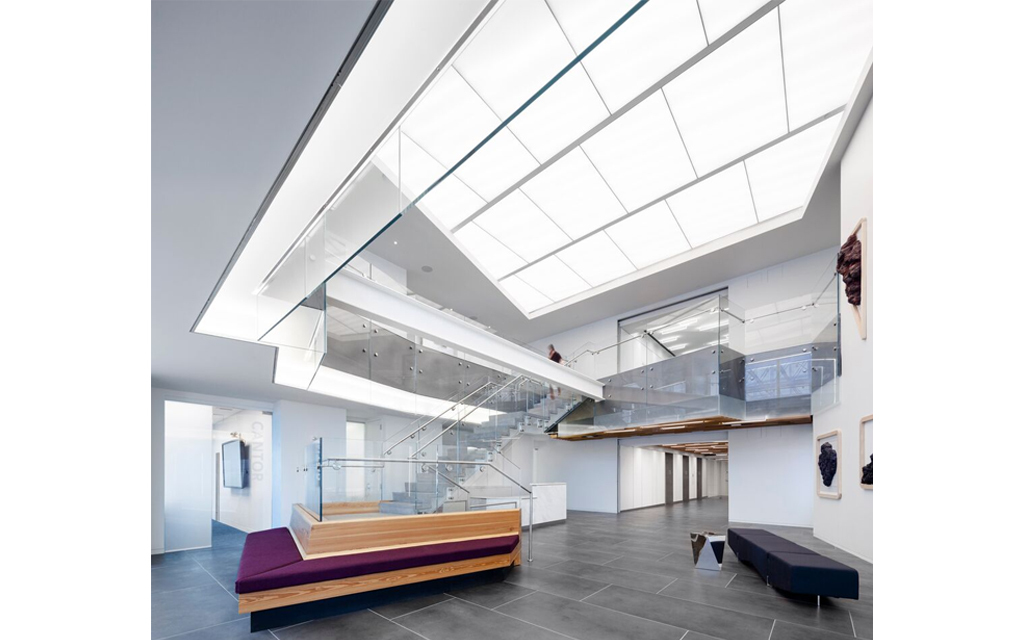 Fabric Wall Ceiling : Lightframe acoustical fabric ceiling and wall system from
