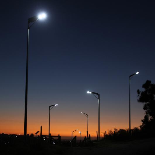 Luminaria Solar Integrada