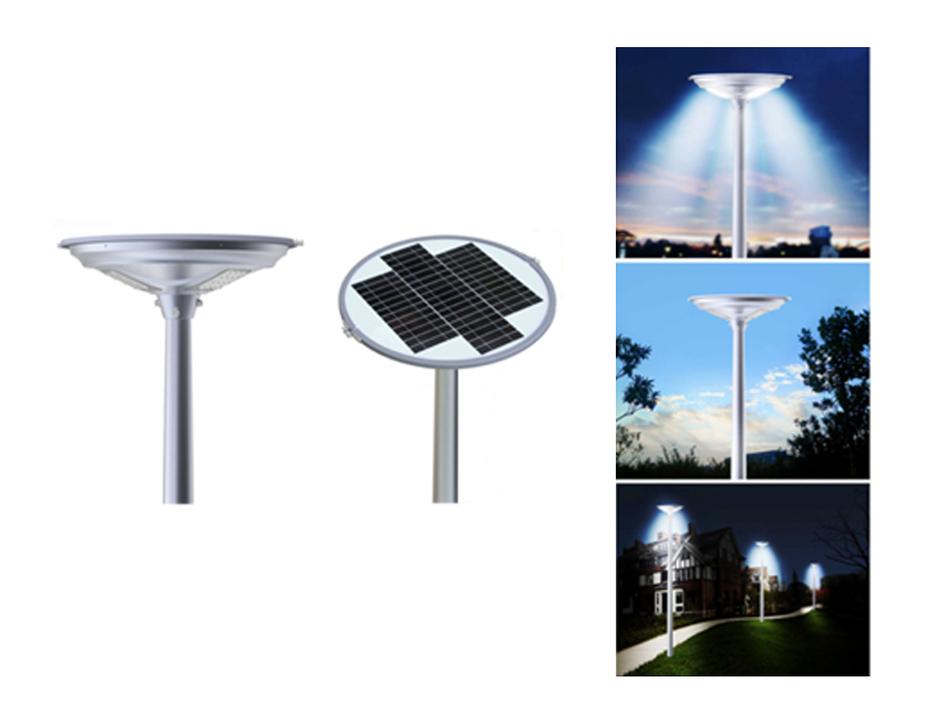 Luminaria solar para parques y jardines de decosolar for Luminarias para jardines exteriores
