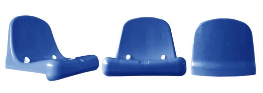 Silla Monocasco DVP Azul