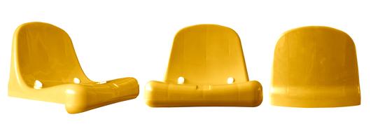 Silla Monocasco DVP Amarillo