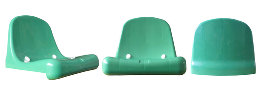 Silla Monocasco DVP Verde