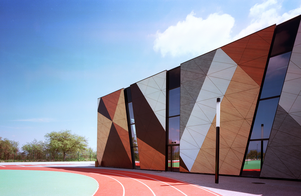 Exterior Wood Cladding Systems : Trespa meteon exterior cladding panels from