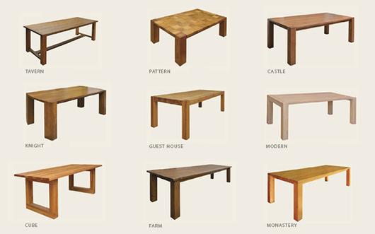 Muebles Rústicos de Roble Francés de Nuprotec