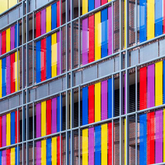 Architectural Wire Mesh - Mesh Coloring / HAVER & BOECKER