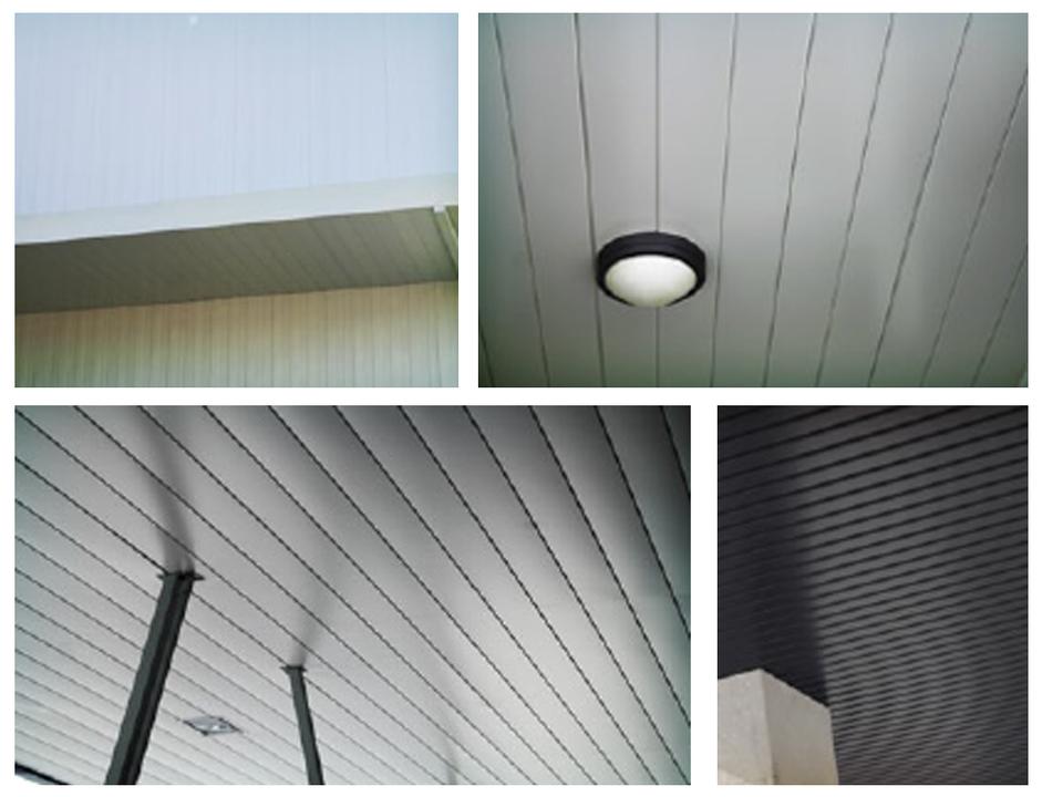 Falsos techos plafones de aluminio de sfv fachadas mx - Plafones para salon ...