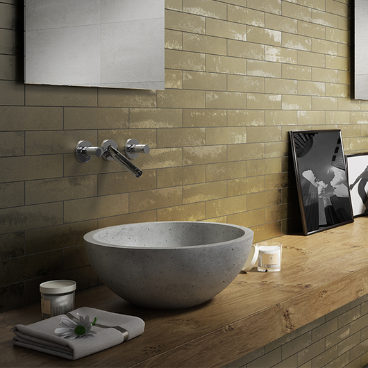 wall of ceramic products for architecture archdaily