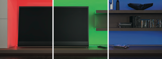 Equipo mezclador de color y lámparas LED RGB
