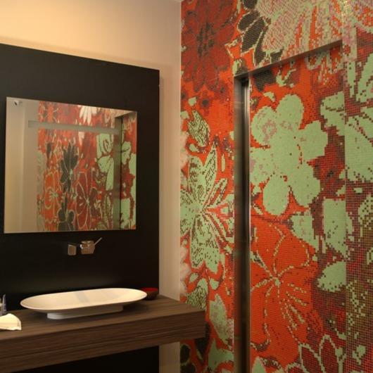 Mosaicos de Vidrio Flor de Lille