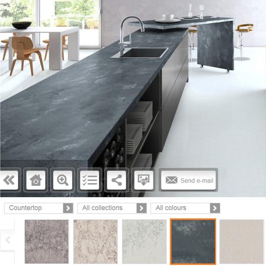 Aplicación para diseño virtual / Caesarstone