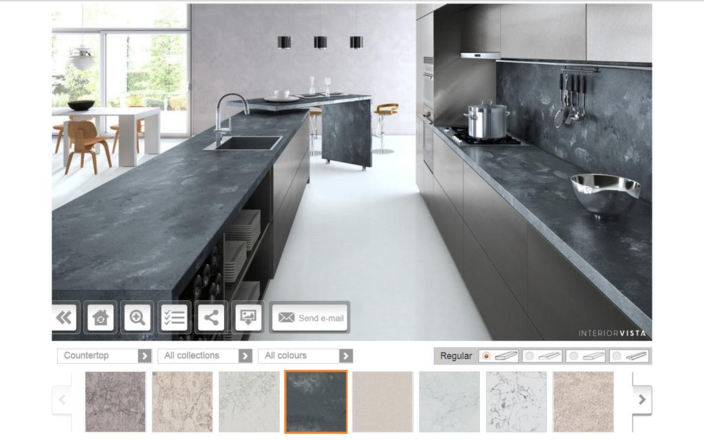 Aplicación para diseño virtual