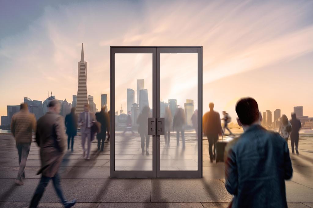 Aluminum Doors - TITANE 65