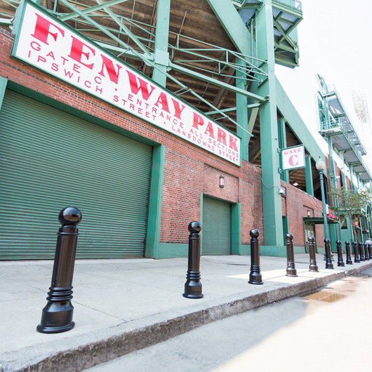 Fenway Park Bollards / Reliance Foundry