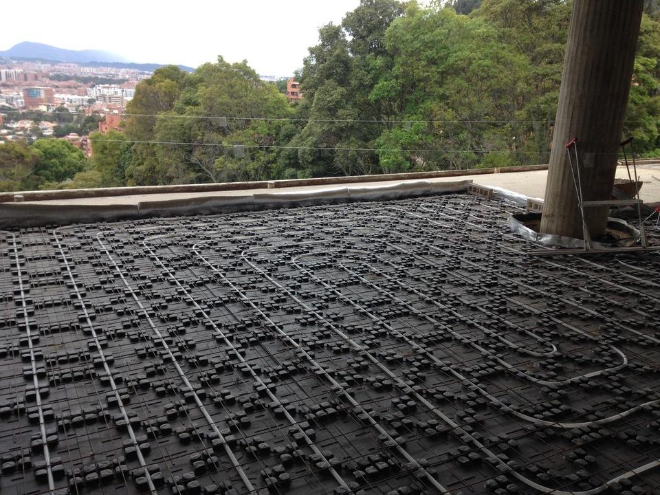 Sistema de Calefacción Ambiental por Superficie Radiante