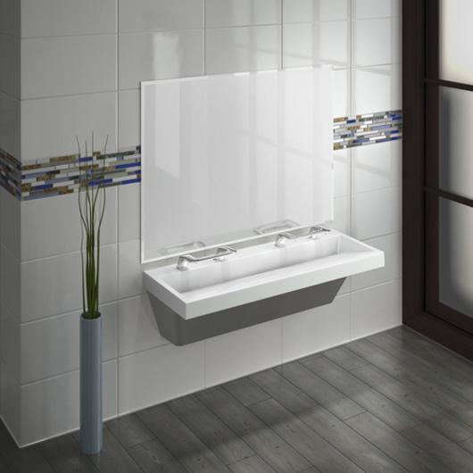 Lavatory System with WashBar Technology - Verge LVQ Series