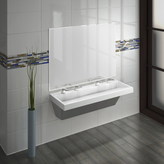 Lavatory System with WashBar Technology - Verge LVQ Series