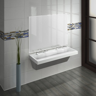 Sinks with WashBar Technology - Verge LVQ Series