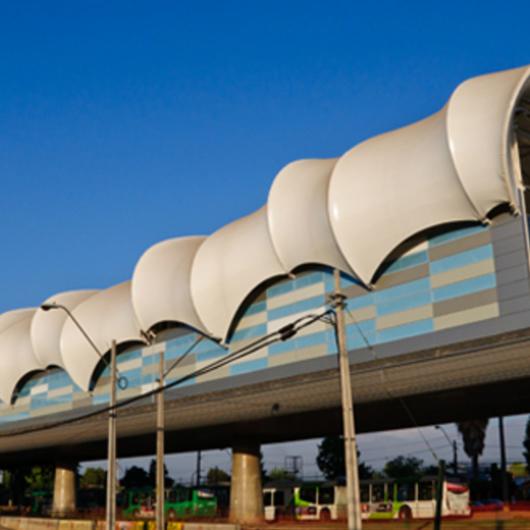 Aplicación de Membranas Textiles en Estaciones de Metro