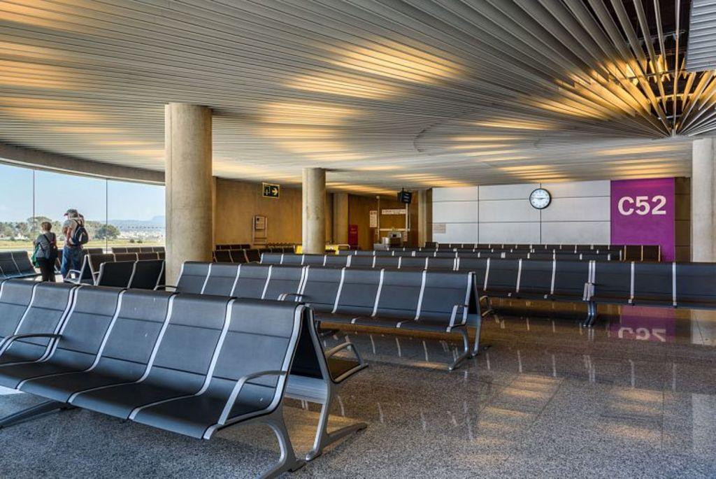 Asientos Passport en el Aeropuerto de Mallorca