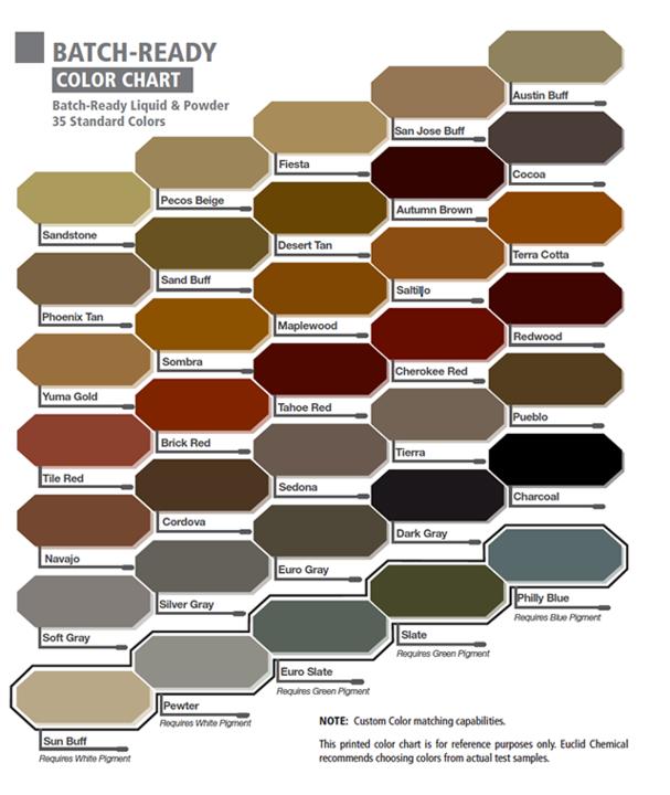 Galeria De Sistema De Color Integral Para Hormign Increte Color