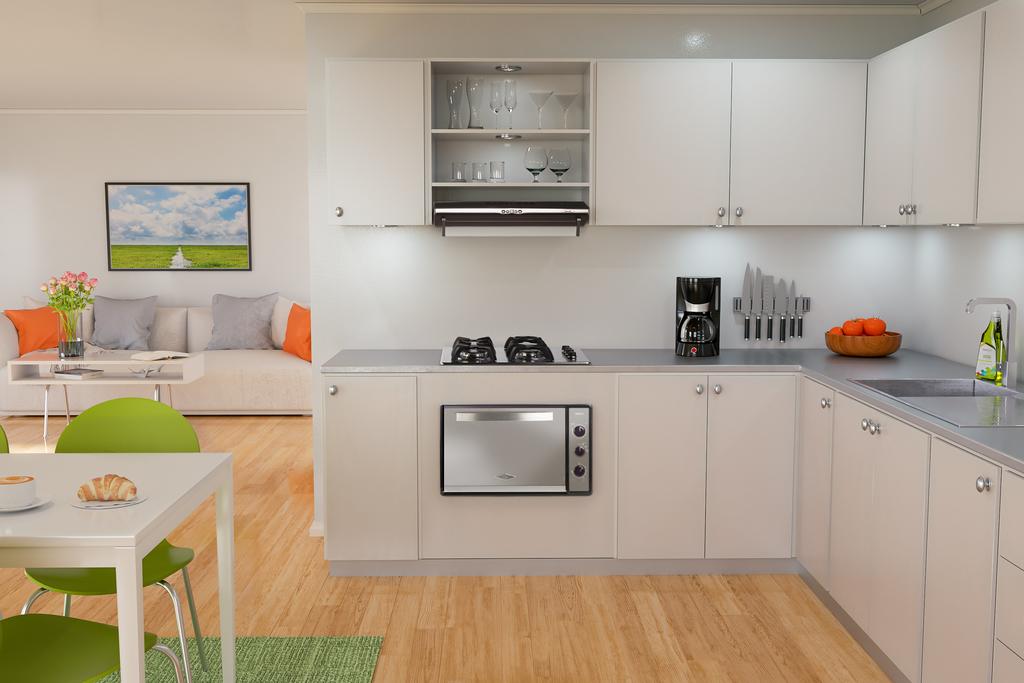 Electrodomésticos: Cubiertas en Acero Inoxidable