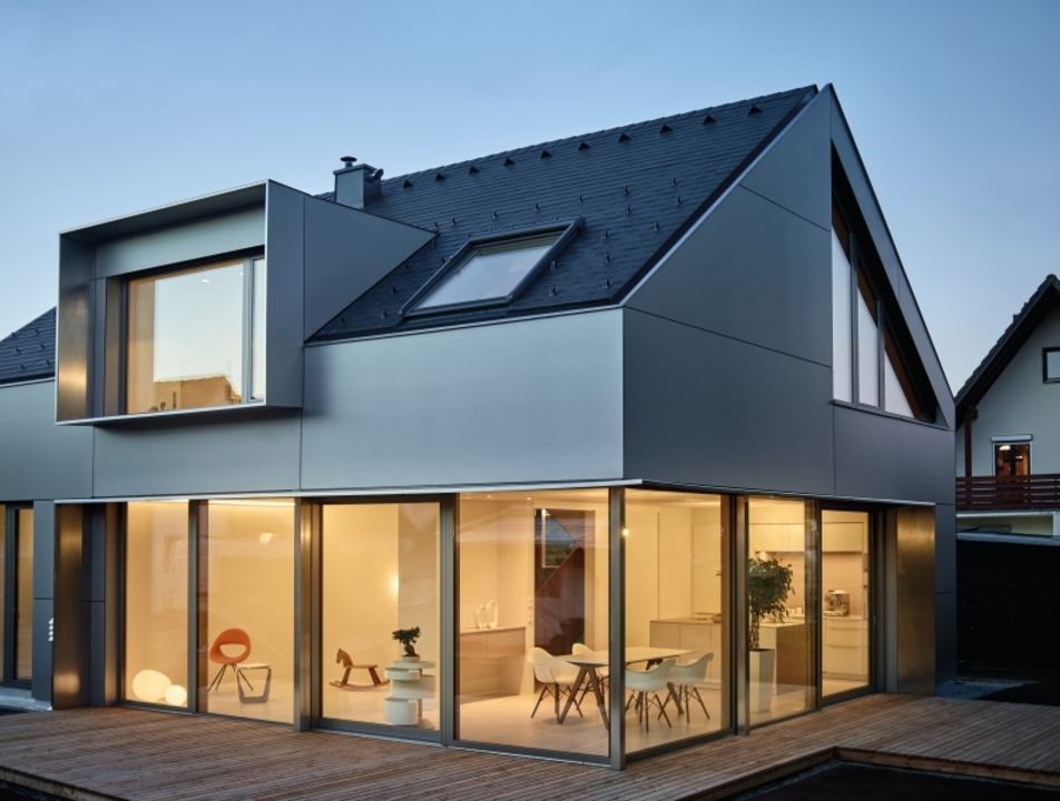 Wood-based panels in House in Ismaning