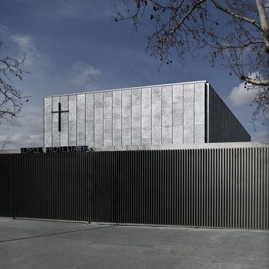 Revestimiento paneles de aluminio Alusion / Hunter Douglas