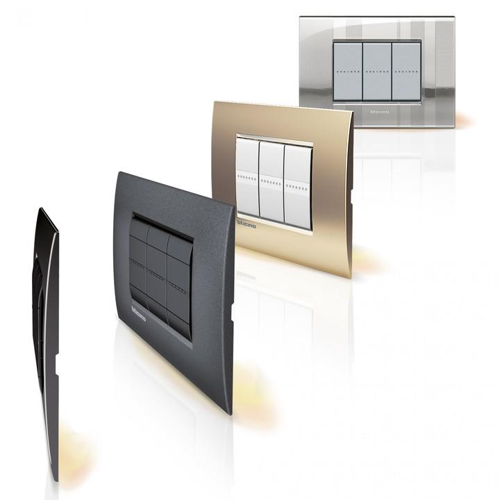 Placas e interruptores