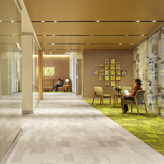Floor Tiles in ProHealth Care Cancer Treatment Facility in Wisconsin / Mosa