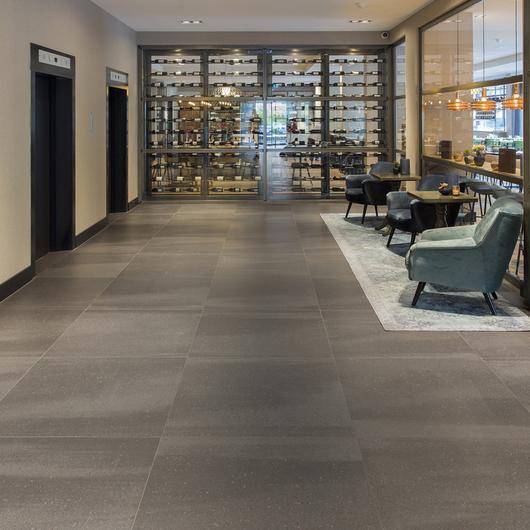 Floor Tiles in Van der Valk Hotel in Antwerp / Mosa