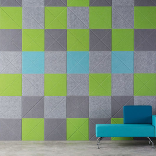 Sistema de Paneles Acústicos Mura Tiles y Vee Tiles